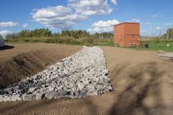 Topsoil Grading & Seeding