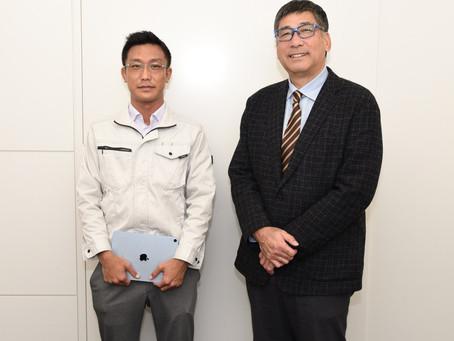 元プロ野球選手の駒田徳広さんと対談しました
