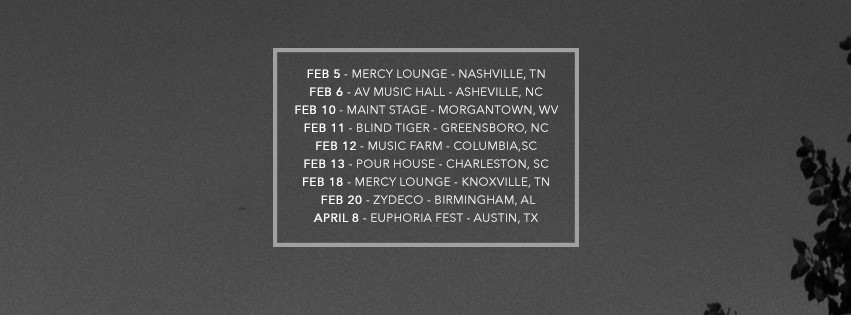 Daily Bread Tour Dates Spring 2016