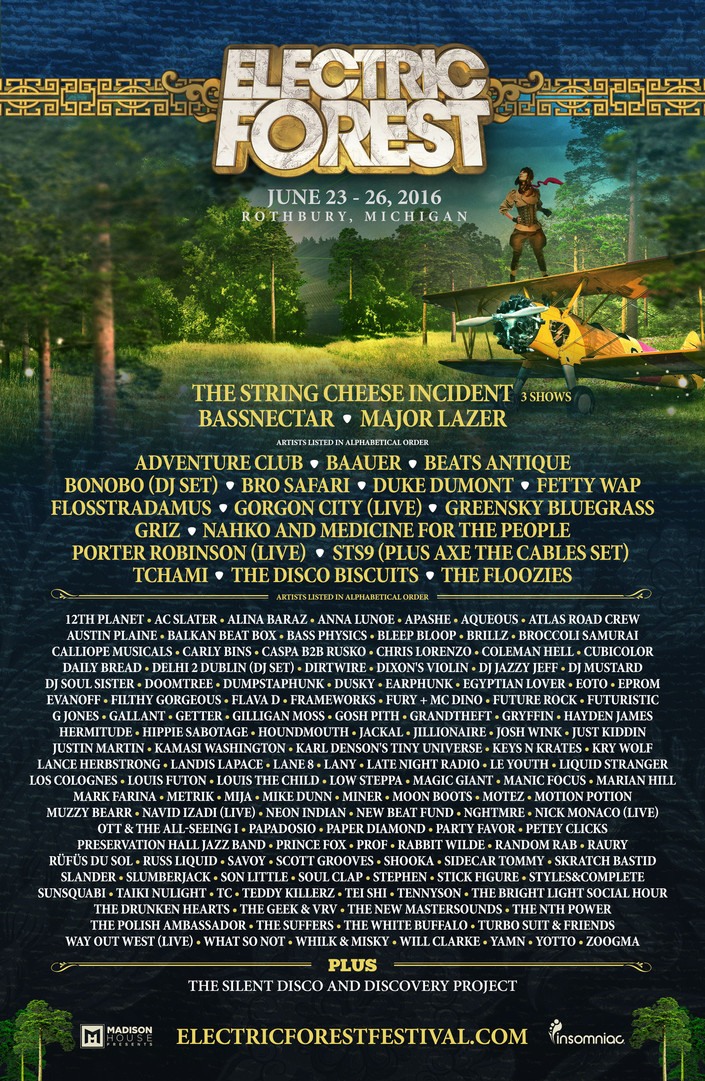 Daily Bread at Electric Forest 2016