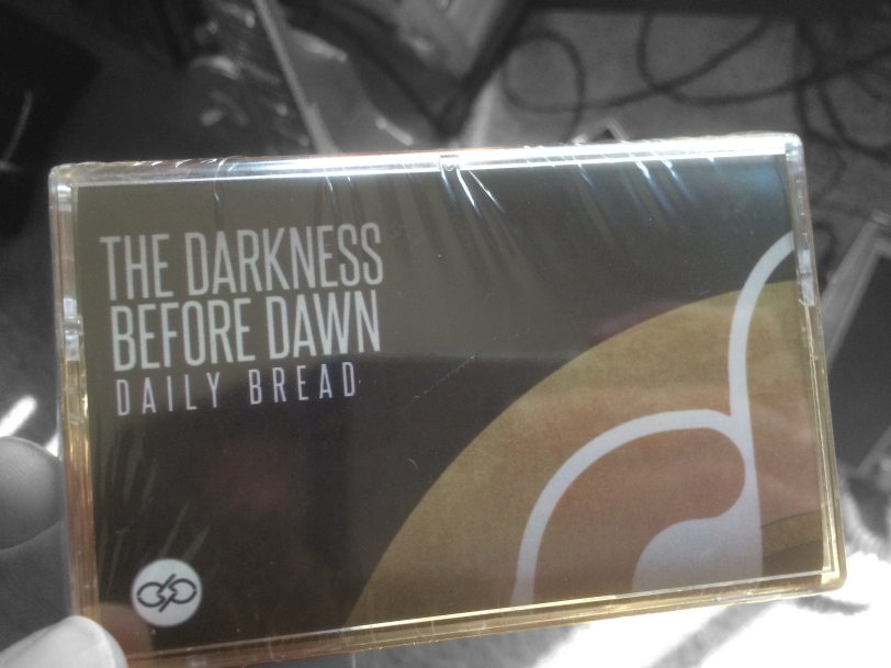 Daily Bread's Darkness Before Dawn on Cassette Tape by Philos Records