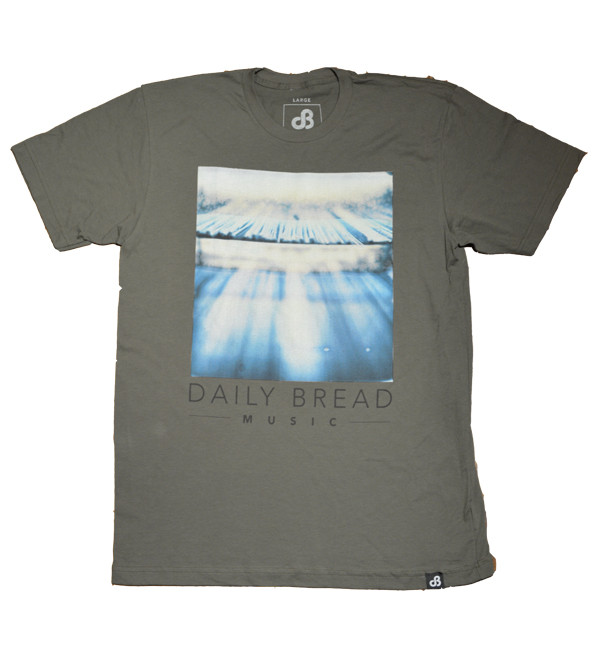Blue Crates Tee by Daily Bread Music