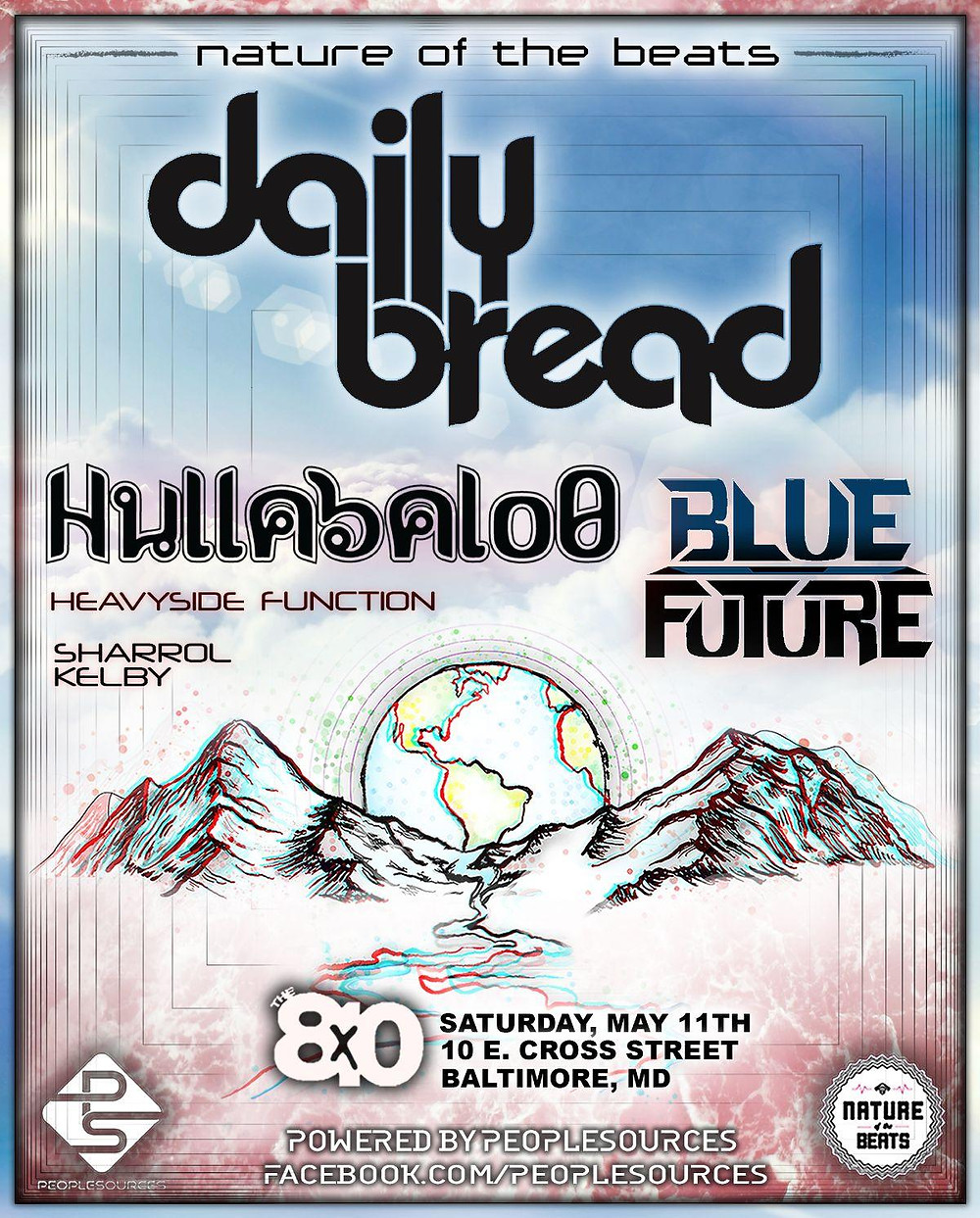Daily Bread Baltimore Poster