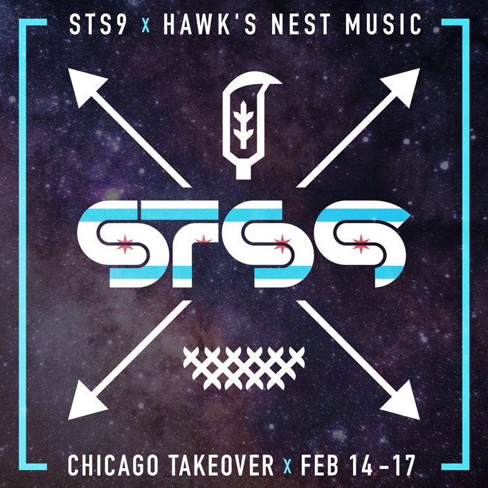 STS9 x Hawks Nest Music Chicago Takeover