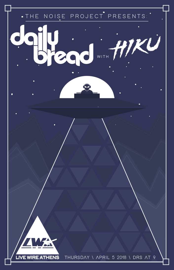 JUST ANNOUNCED! Daily Bread with HIKU in Athens, GA on 04/05/18