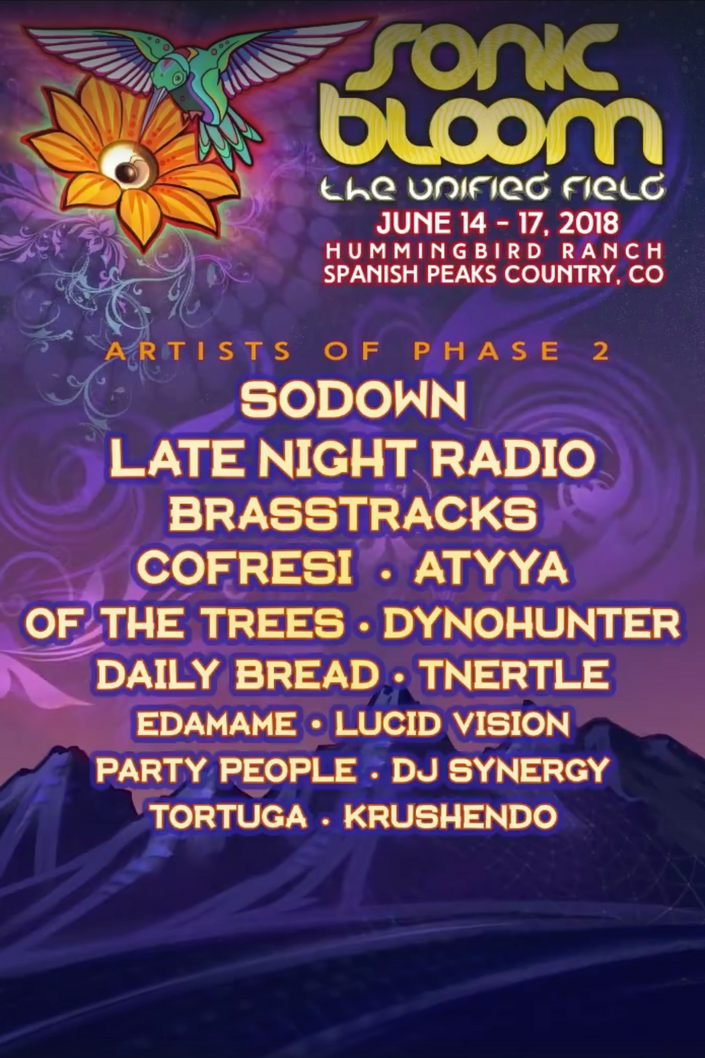 Sonic Bloom Phase 2