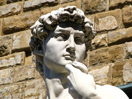 """In David, Michelangelo observed the jugular vein before Science"""