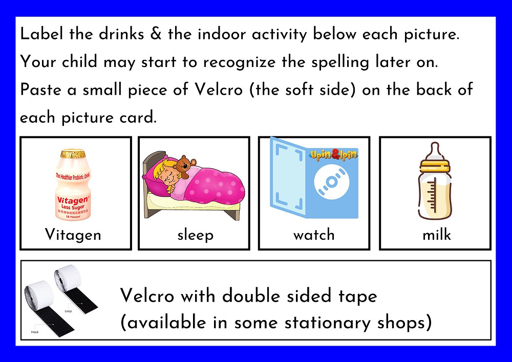 Autism Centre Seremban Speech Therapy tips preparation step 4