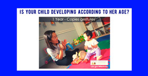 Language or Communication Abilities that your 1 year old should have : when to consult a doctor...