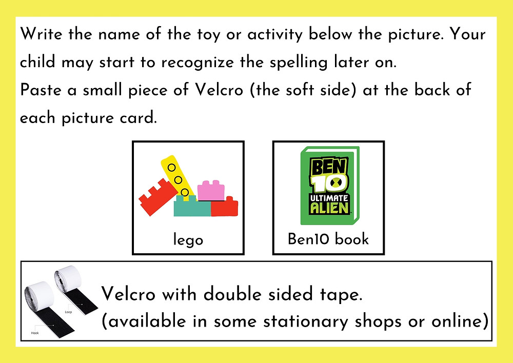 Speech Therapy Seremban Autism step 5 on preparing materials for requesting toys pt 2