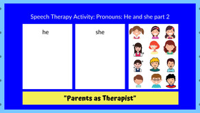 "Speech Therapy Activity: Teaching ""he"" & ""she"" Part 2..."