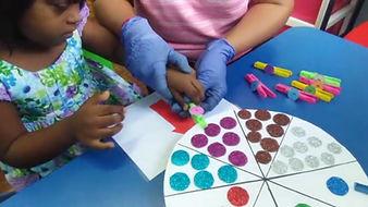 Seremban Autism Center EIP math counting