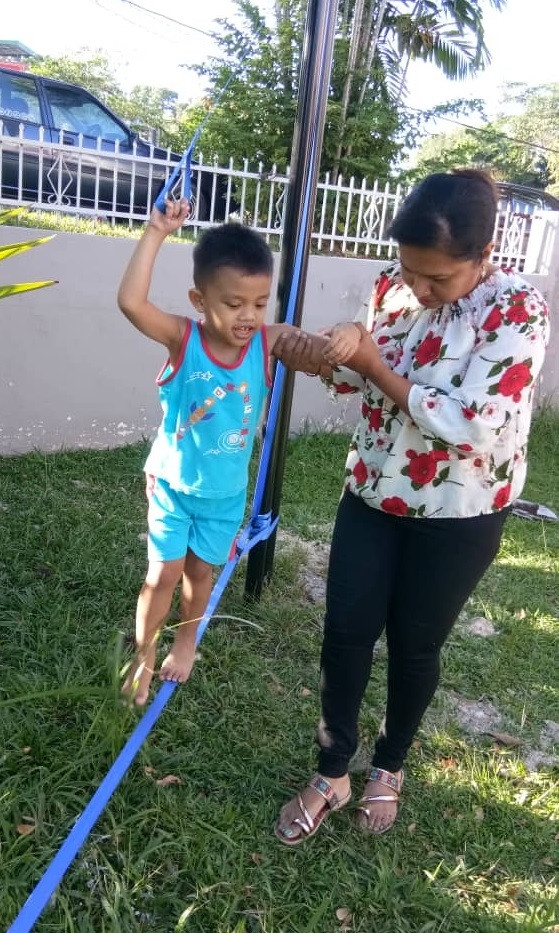 Outdoor Occupational Therapy: Motor Planing & Balance and Coordination