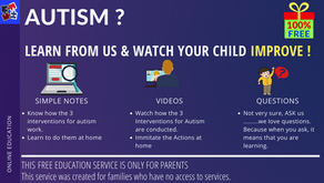 How to Make your Child with Autism Better?