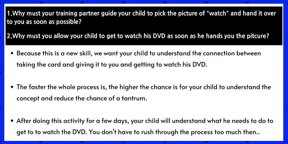 Autism Center Seremban EIP tips for pecs stage 1