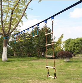 The Rope Obstacle Course