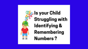 Is Your Child Struggling with Numbers? We found this method to be most effective. And it's FUN too