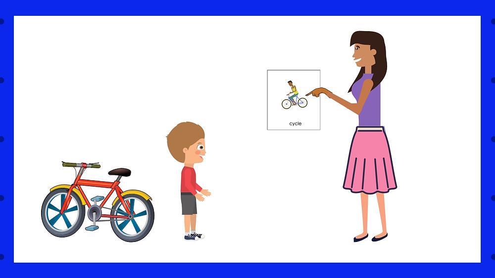 Speech Therapy Seremban by Louis Center , communicate with Action Verbs pt 1