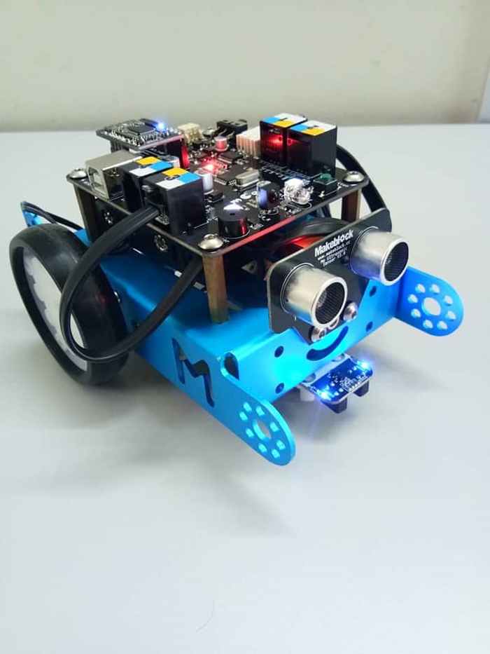 Assembled & programmed by our students at louis center for autism seremban