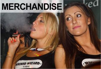 Wicked Wizard E Liquid Merchandise