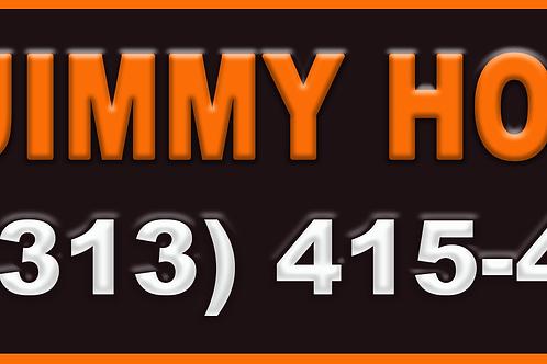Jimmy Hoffer Bumper Sticker