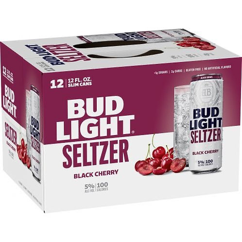 BLACK CHERRY SELTZER (Bud Light)