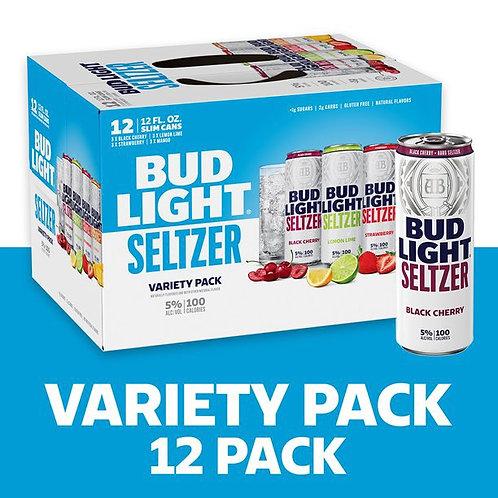 SELTZER VARIETY PACK (Bud Light)
