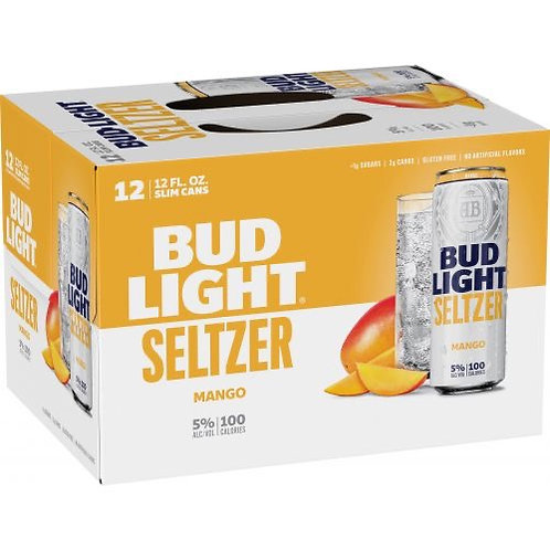 MANGO SELTZER (Bud Light)