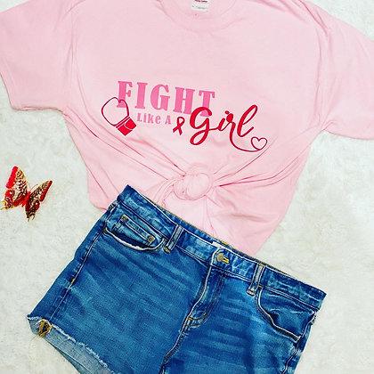 Fight Like A Girl Tee Shirt