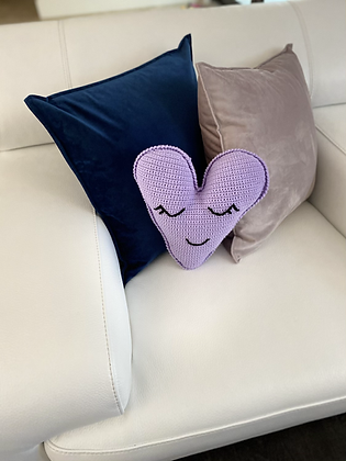 Crochet (Happy Heart) lilac