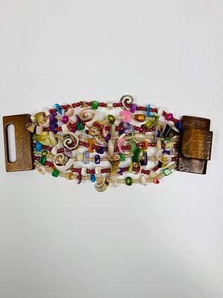 Shell Beaded Bracelet