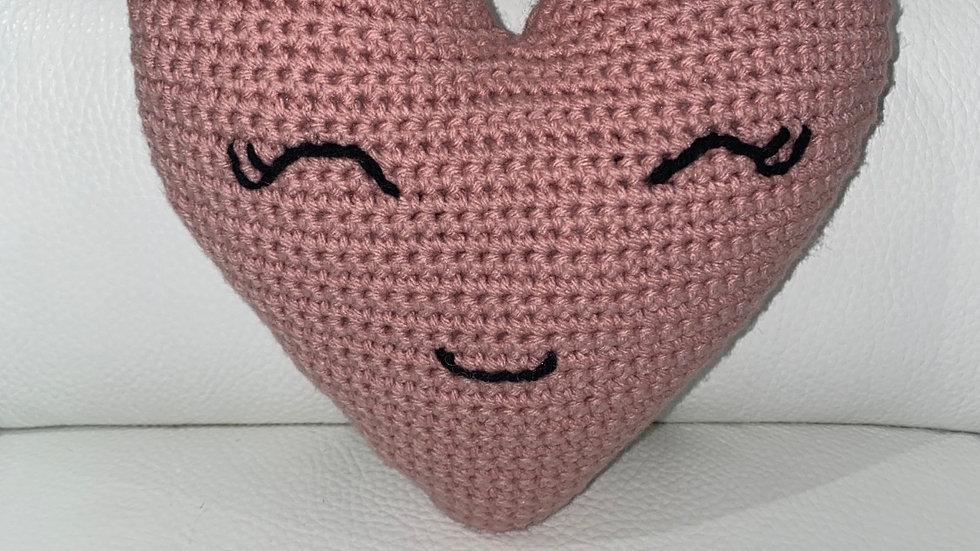 Crochet Heart (Happy Heart)