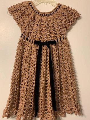Crochet Dress (Pretty Miss Sunshine)