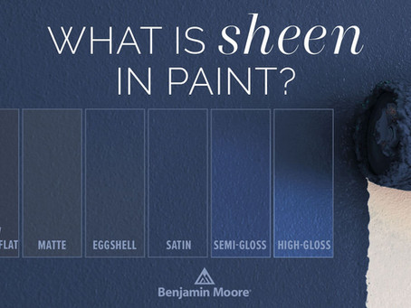 Flat, Eggshell, Satin & Semi-Gloss - What Is The Difference?