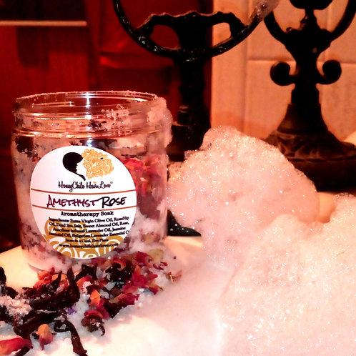 Amethyst Rose Aromatherapy Soak