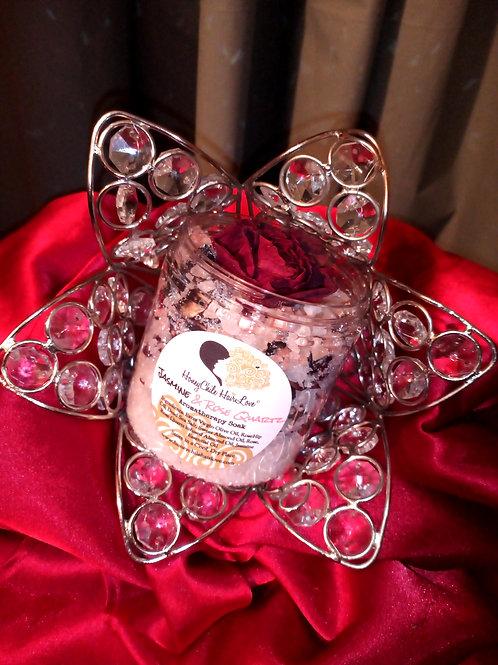 Jasmine & Rose Quartz Aromatherapy Soak