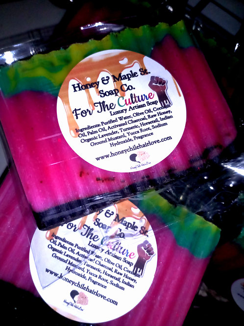 For the Culture Luxury Soap