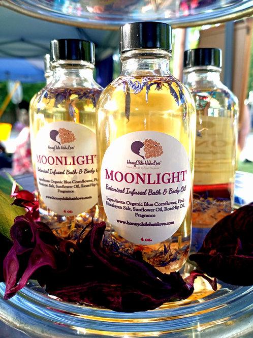 Moonlight Botanical Infused Bath & Body Oil