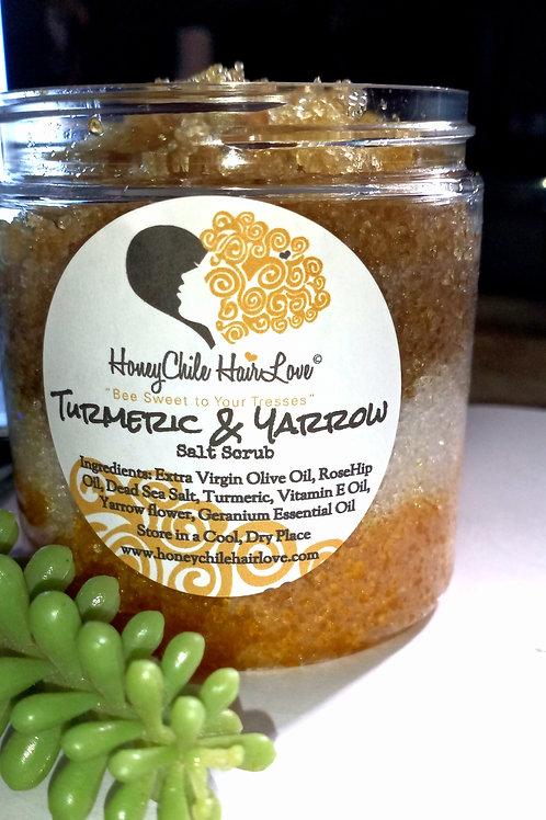 Turmeric & Yarrow Salt Scrub