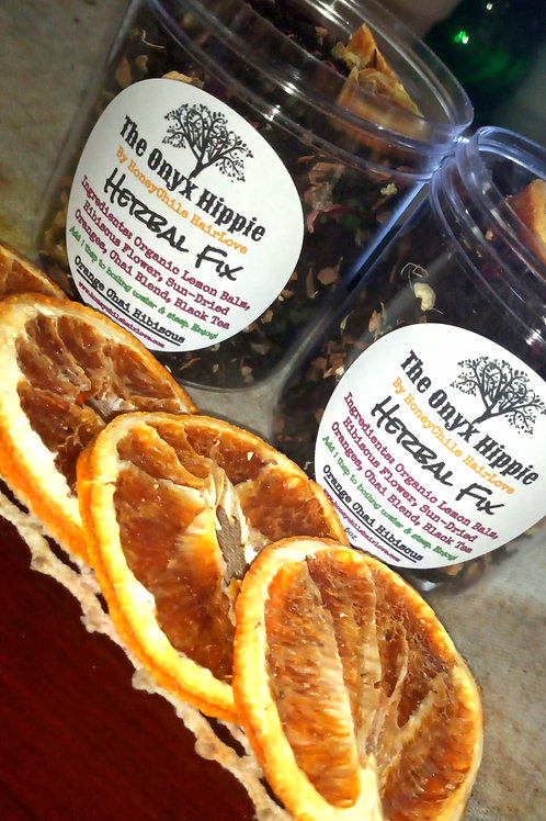 Orange Chai Hibiscus Loose Leaf Tea