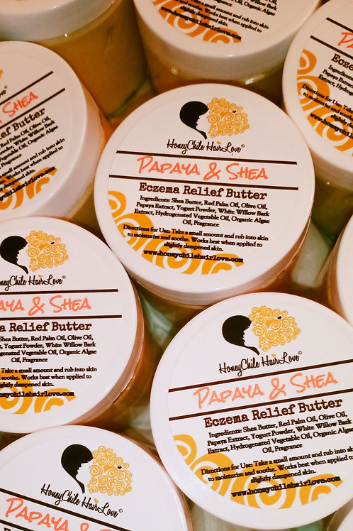 Papaya & Shea Eczema Relief Butter