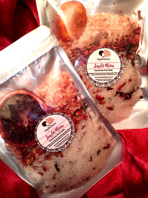 Scarlet Moon Luxurious Fruit Bath