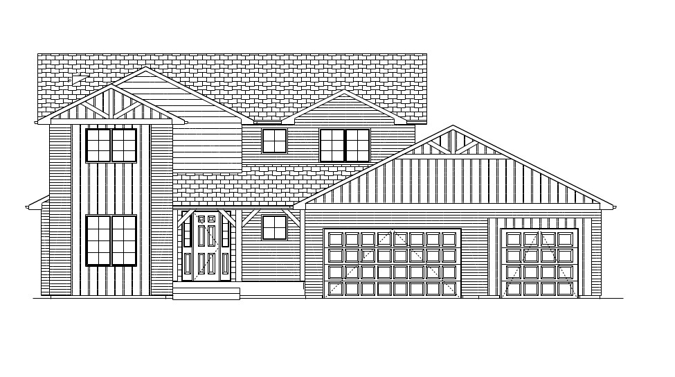 Front Plan Elevation