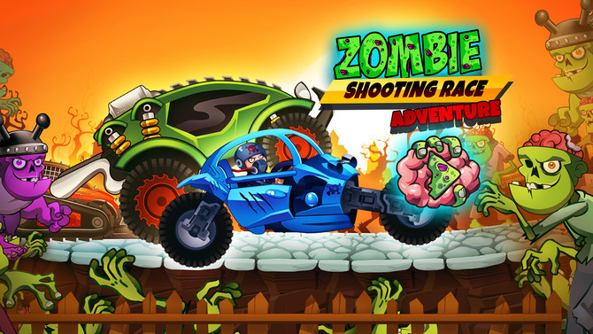 Zombie Shooting Race Adventure