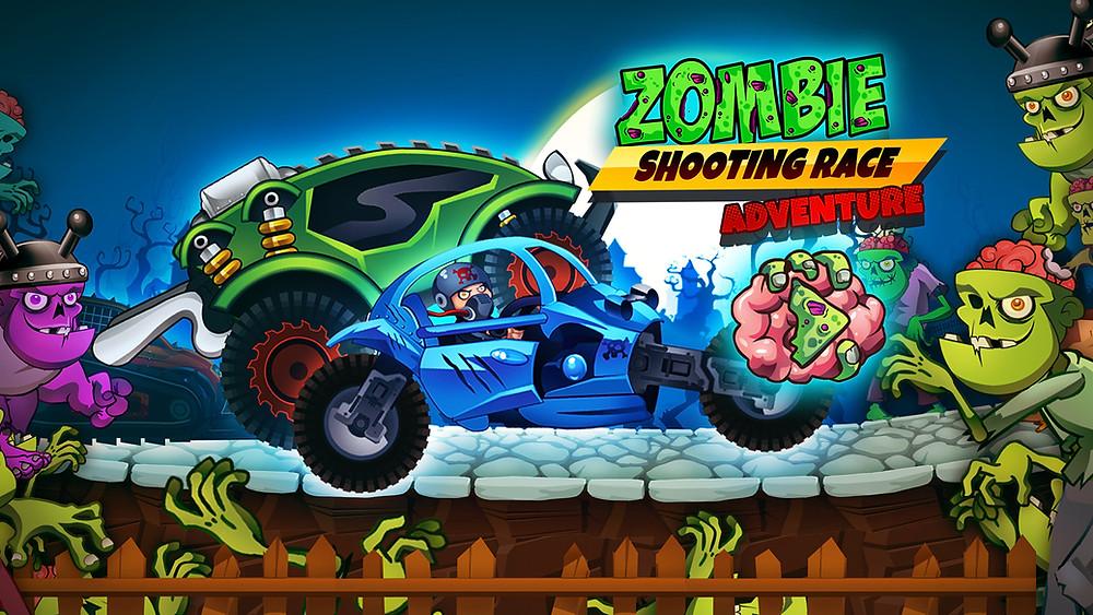 Zombie Shooting Race Adventure