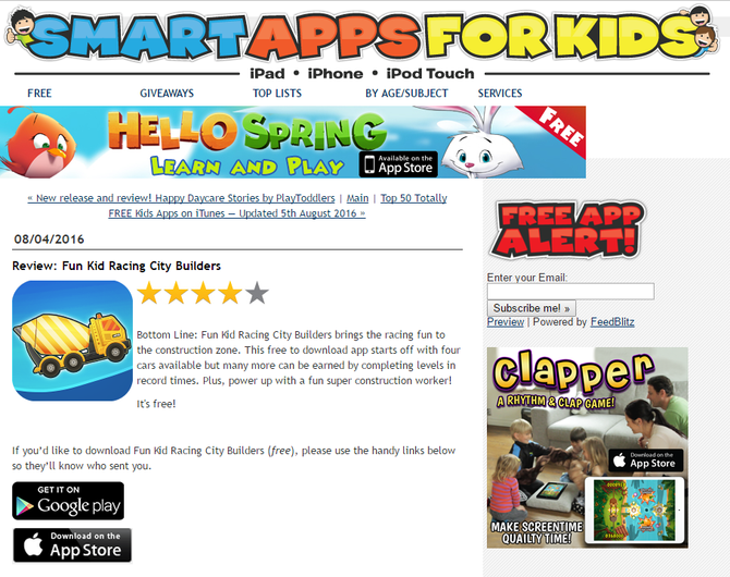 Newest Tiny Lab Kids games are featured on Smart Apps For Kids!