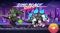 Dino Robot Wars: City Driving and Shooting Game