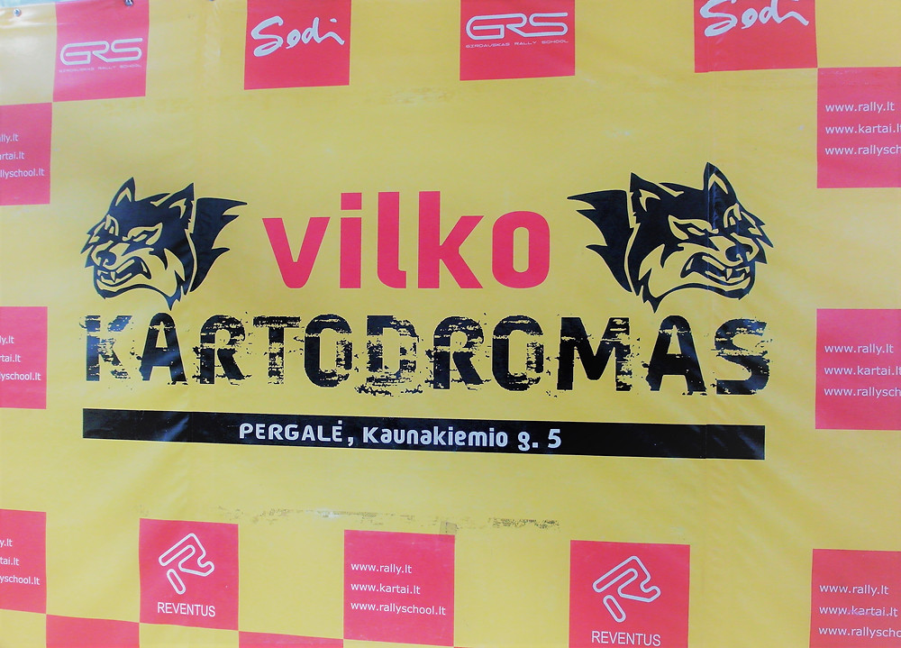 "Thanks ""Vilko Kartodromas"""