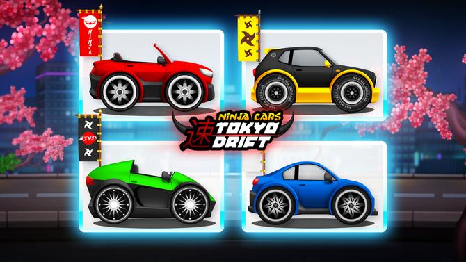 Ninja City Tokyo Drift: Clumsy Ninja Chasing Cars