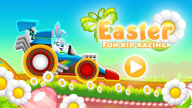 Easter Bunny Racing For Kids